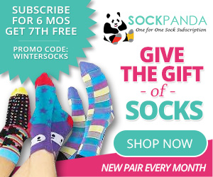 SockPanda.com 7th month Free example: