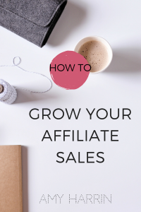 Amy Harrin Affiliate Sales